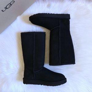 UGG Classic Tall II Black Boots